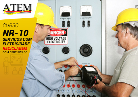 NR-10: Serviços com Eletricidade – Reciclagem