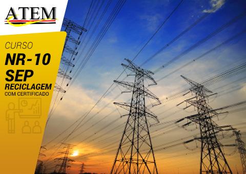 NR-10: Sistemas Elétricos de Potência (SEP) - Reciclagem