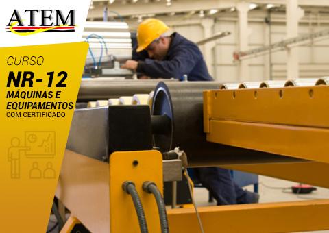 NR-12: Utilização de Máquinas e Equipamentos
