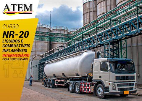 NR-20: Líquidos e Combustíveis Inflamáveis – Intermediário