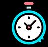 Agilidade e economia de tempo